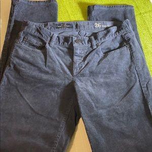 😻NWOT J. Crew Matchstick Corduroy Pants